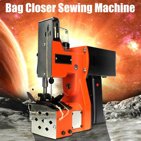 industrial portable bag closer stitching sewing machine electric sealing ebay