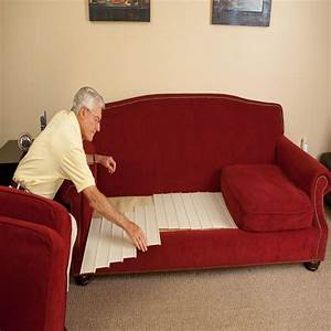 Sofa Cushion Lifters Fix A Sagging Sofa Just By Putting