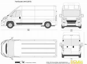 Fiat Ducato Dimensions Exterieures : the vector drawing fiat ducato l4h3 ~ Medecine-chirurgie-esthetiques.com Avis de Voitures
