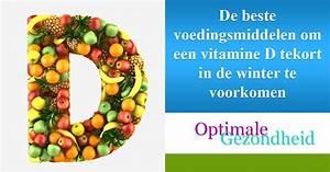 symptomen vitamine tekort