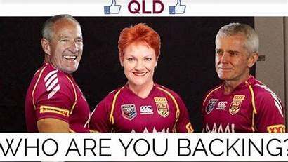 State Origin Meme Queensland Courts Corridors Politics