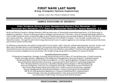 Vp Information Technology Resume by Vice President I T Resume Template Premium Resume Sles Exle