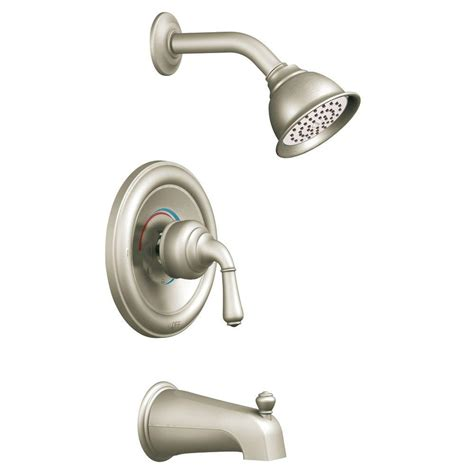 moen monticello 1 handle posi temp tub shower trim kit in