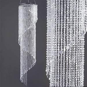Quot acrylic diamond spiral chandelier centerpiece wedding