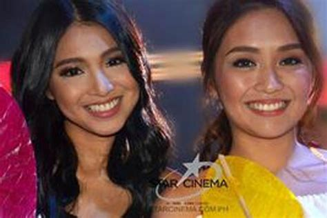 nadine lustre kalokalike what nadine told kathryn when they met abs cbn news