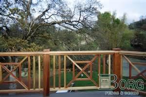 custom deck railing gates