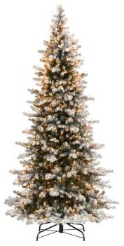 9ft slim frosted richmond pre lit artificial tree 850 clear lights looking tips