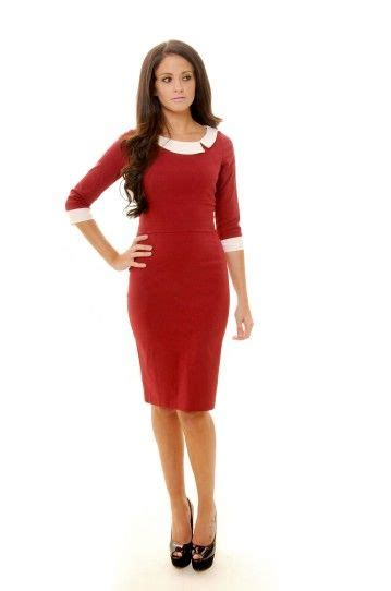 mistress mad men bordeaux pencil dress wardrobe