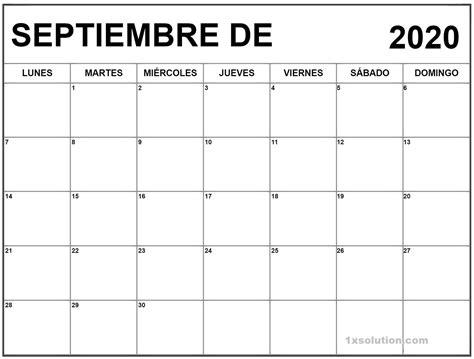 calendario septiembre  chile  ninos horario de