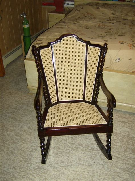 Recaning A Chair Back by Chair My Antique Furniture Collection