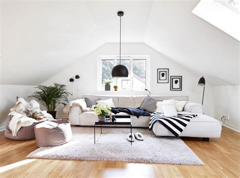 attic living rooms      adorable