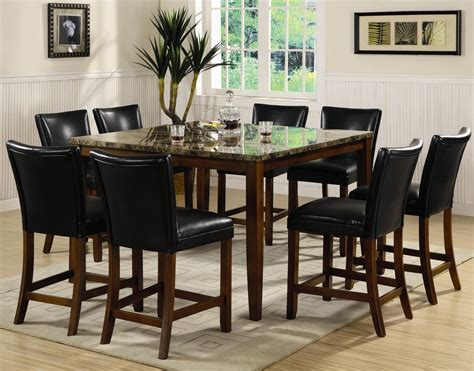cherry wood pub table set telegraph cherry wood and marble pub table set steal a