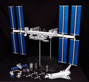 International Space Station Desktop Models - Pics about space