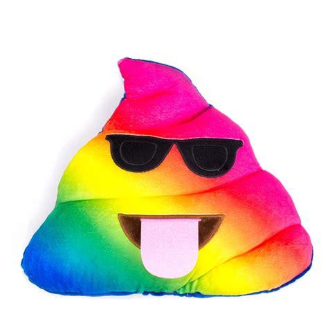 bed cusions rainbow poo emoji pillow rainbows pillows and emojis
