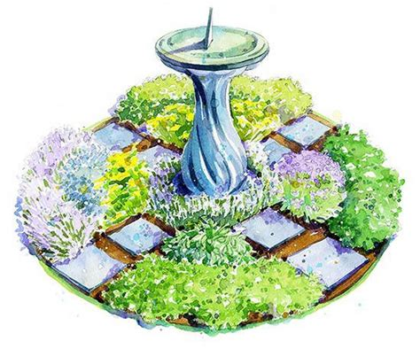herb garden design plans classic herb garden plan