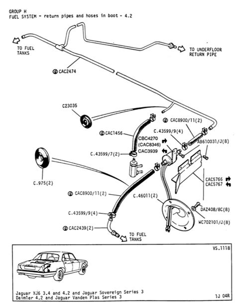 Rebuilding the fuel lines - Jaguar Forums - Jaguar