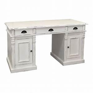 Bureau Ancien En Bois : bureau au style ancien riviera meuble traditionnel en bois ~ Carolinahurricanesstore.com Idées de Décoration