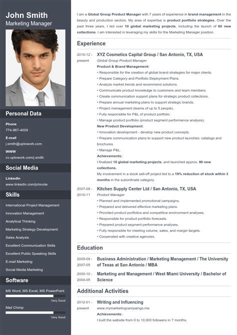 Create A Great Resume Free by Free Cool Cv Templates Resume Format