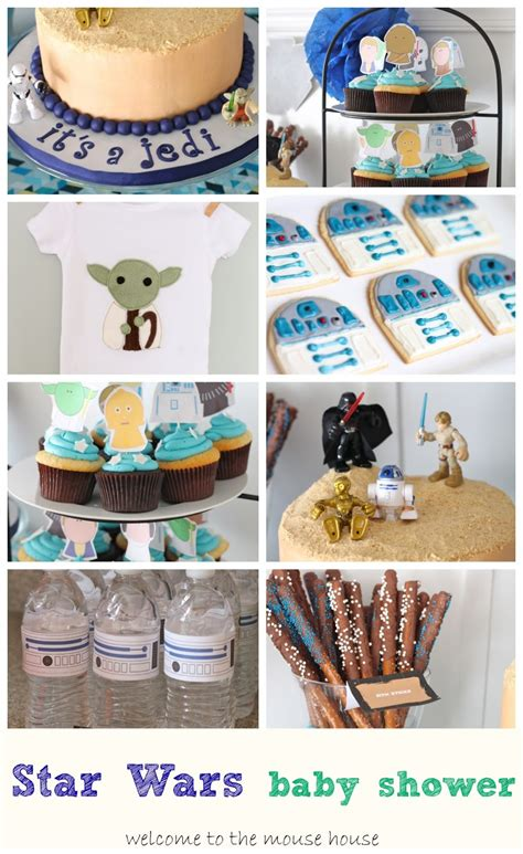 Wars Baby Shower - wars themed baby shower welcometothemousehouse