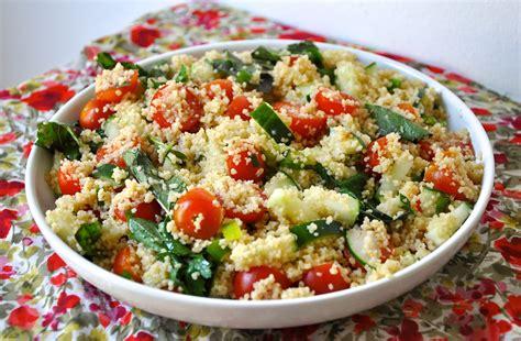 menu cuisine collective couscous salad recipe
