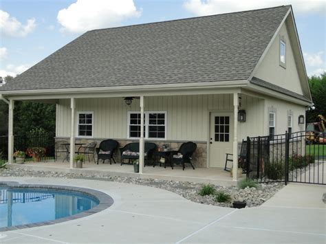 Collegeville, Pa Residence Pool House And Garage