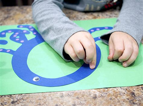 printable letter  craft    octopus