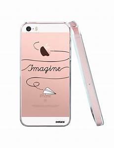 Coque Iphone Transparente : coque transparente imagine pour iphone 5 5s se ~ Teatrodelosmanantiales.com Idées de Décoration