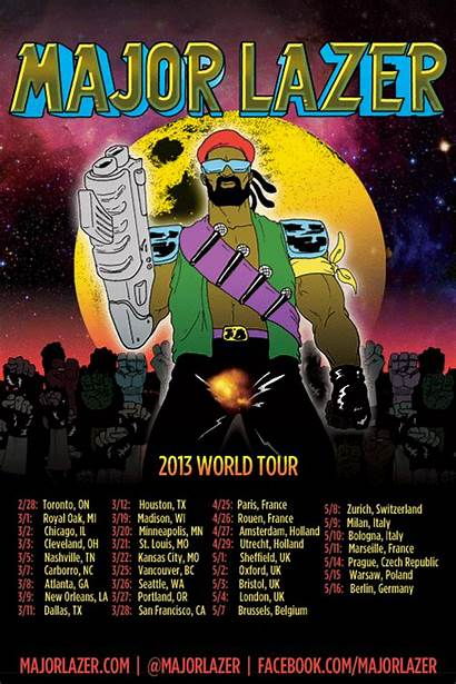 Major Lazer Tour Universe Announce Europe Youredm