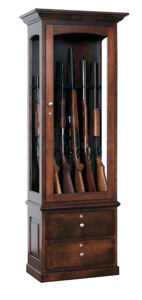 Bookcases With Glass Shelves by Jsw 6 Gun Cabinet