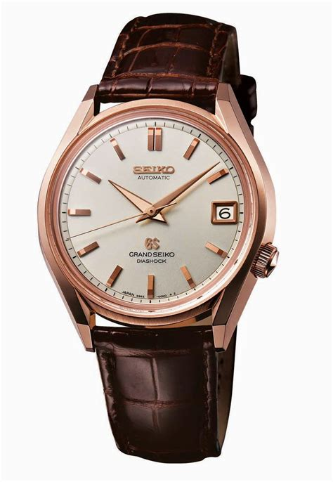 grand seiko gs historical collection time  watches