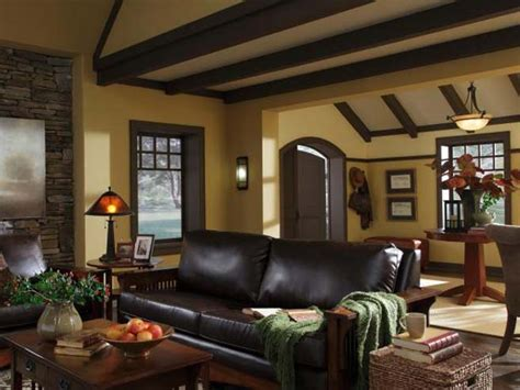 paint colors for living rooms with dark trim