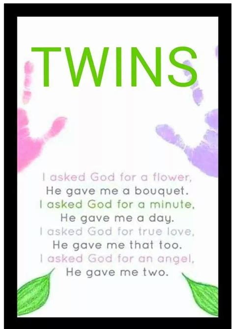 twins poem twins twin quotes cute twins nursery twins