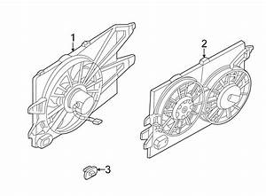 Ford Focus Engine Cooling Fan Assembly  Radiator  Dohc