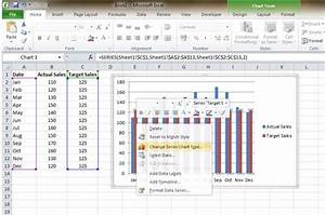 Add Baseline To Simple Excel Chart