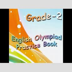 Grade 2 English Olympiad Practice Book For Kids Youtube