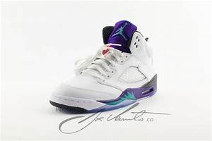 "Release Date // Air Jordan Retro 5 ""Grape"" | Sole Collector"