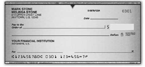 personal check designs 4 checks