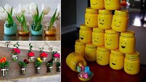 26 idees pour recycler les petits pots de bebe des idees With affiche chambre bébé avec crochet pour pot de fleur