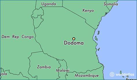 dodoma tanzania dodoma dodoma map