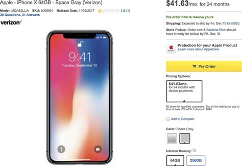 Best Buy Iphone X Best Buy Selling Iphone X On Installment Plan Only After