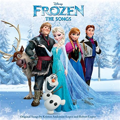 frozen  songs cd covers
