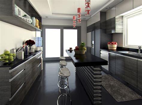 desain dapur mewah  berkelas rancangan desain rumah