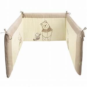 Tour De Lit Aubert : tour de lit winnie ecru beige de disney baby tours de lit aubert ~ Teatrodelosmanantiales.com Idées de Décoration