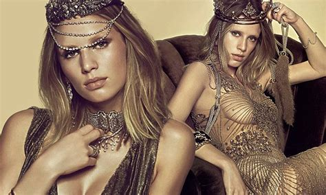 Dylan Penn, daughter of Sean Penn and Robin Wright models jewelry for Vogue Brazil | Daily Mail ...