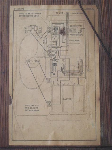 Antique Phone Wiring Diagram projects