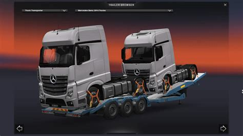 cargo  truck transporter  ets  trailers