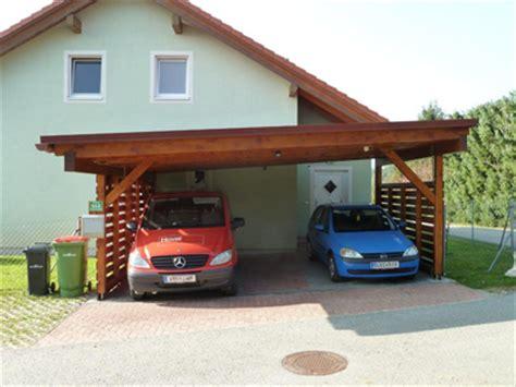 Moderne Häuser Mit Carport by Carport Aus Holz Planen Bauen Montagebaus 228 Tze Vom
