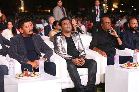 Shankar, Ar Rahman, Rajinikanth @ 2.0