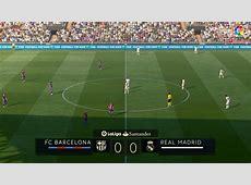 FC Barcelona vs Real Madrid FC El Clasico LaLiga