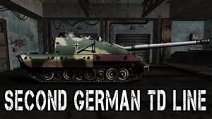 World Of Tanks  Second German Td Line